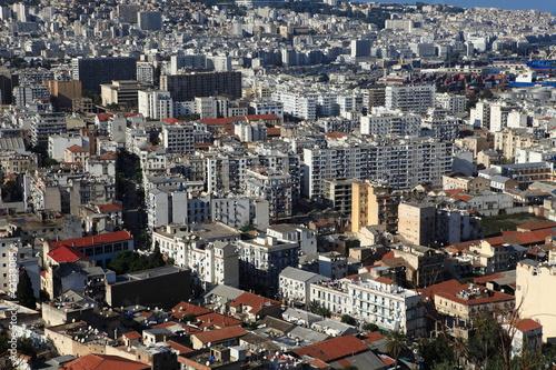 skyline von algier