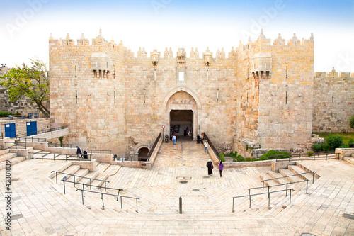 Damascus gate,  Jerusalem, Israel