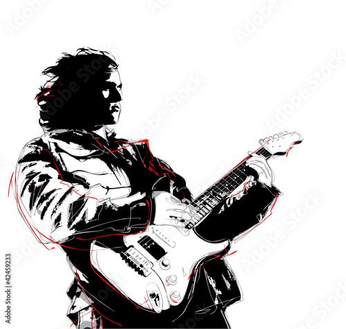 Fotografie, Obraz guitarist