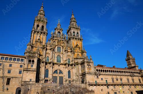 Billede på lærred Cathedral of Santiago