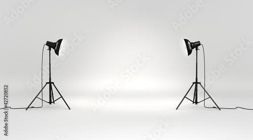 Fotografía 3d studio set