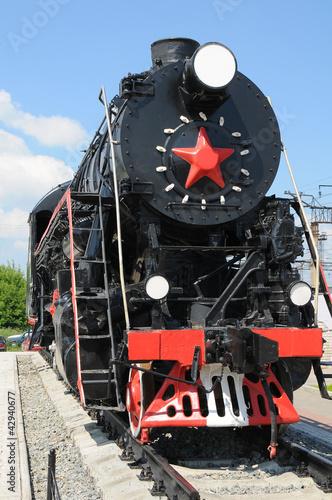 Old locomotive Fototapeta