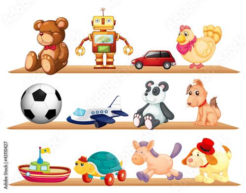 various toys #43110427