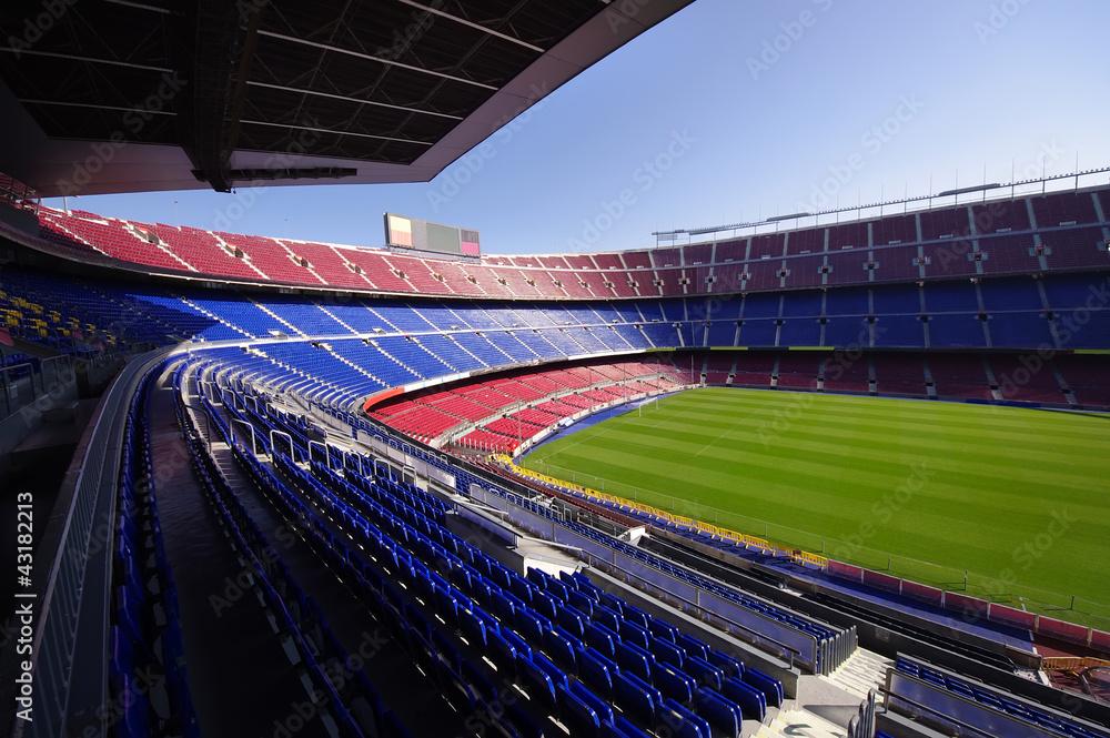 stadion piłkarski <span>plik: #43182213 | autor: Ioan Panaite</span>