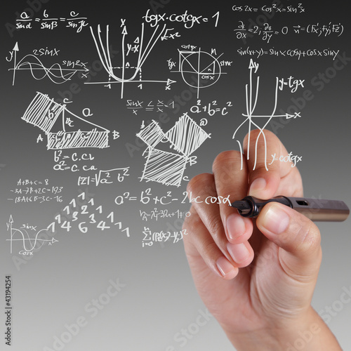 Wallpaper Mural Well-known physical formula