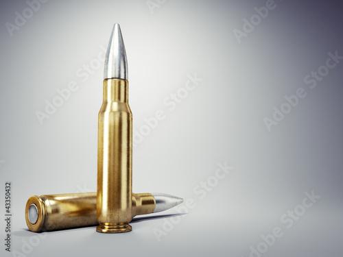 Leinwand Poster Bullet