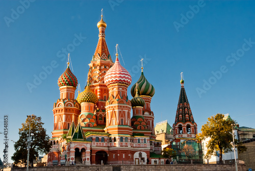 Canvas Print St. Basil Cathedral, Red Square, Moscow