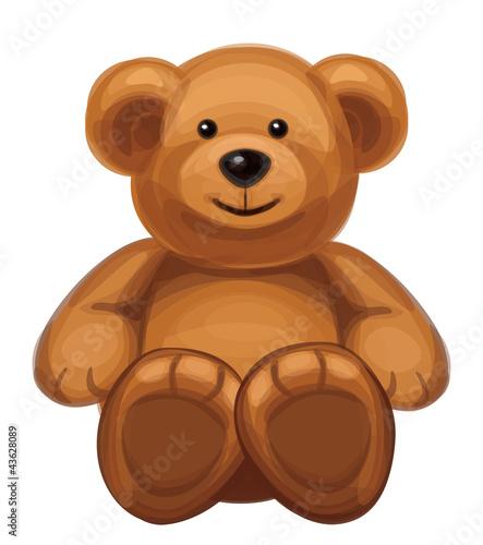 Vector of cute bear. #43628089