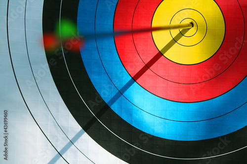 Fotografia Bulls eye (archery)