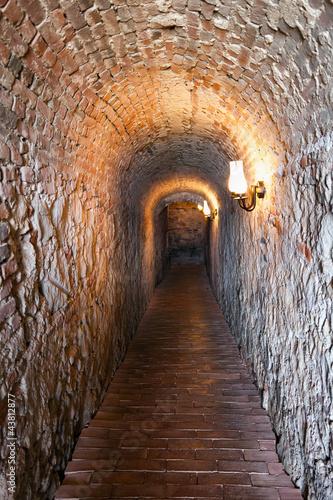 Fototapeta premium Stary tunel
