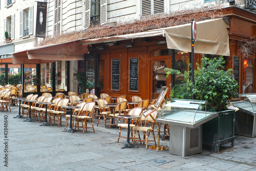street cafe in Paris #43848640
