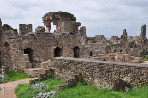 Платно Golconda Fort in Hyderabad, India