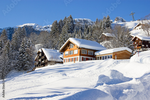 Winter holiday house #44080662
