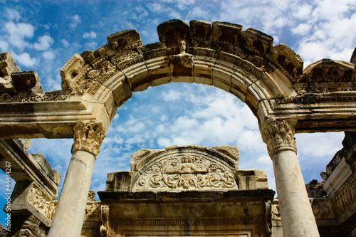 Valokuvatapetti The Hadrian temple's arch, Ephesus, Turkey