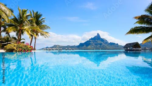 Fotografie, Obraz Bora Bora landscape