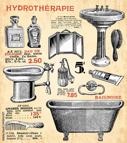 Obraz na płótnie La salle de bain