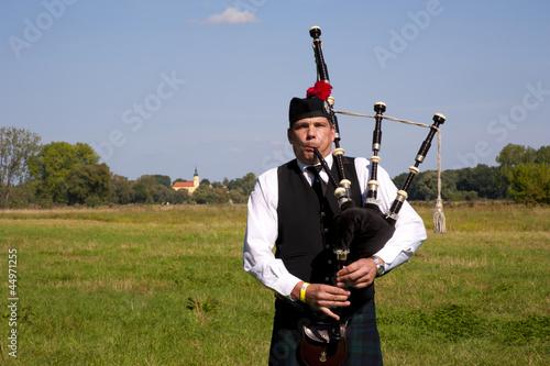 Fotografia, Obraz Highland Games Trebsen 2012 Dudelsackspieler