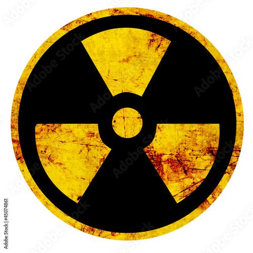 Fotografia Nuclear sign