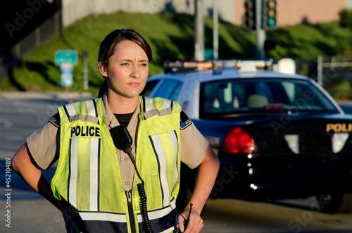 Fotografia Female police officer