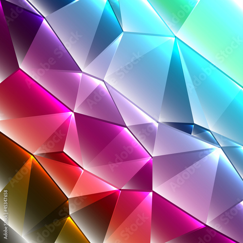 geometric style shiny abstract background #45347658