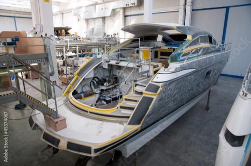 Fotografie, Obraz Italian shipyard