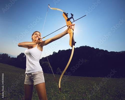 Archery Poster Mural XXL