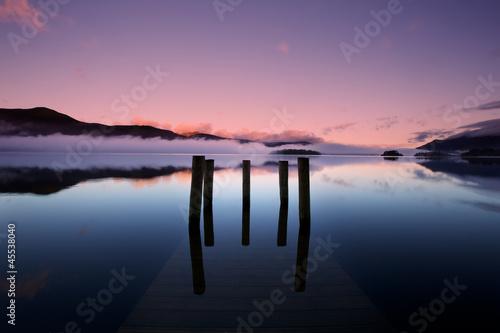 Fotografering Serenity of Derwent Water