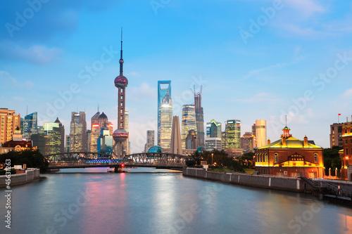 beautiful night in shanghai #45631263