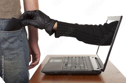 Internet Theft Fotobehang