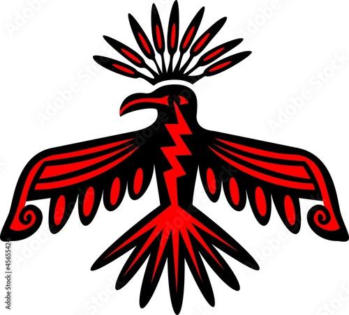 Canvas Print Donnervogel - Thunderbird - Native American Symbol