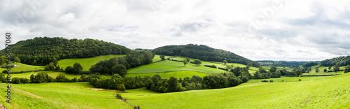 Fotografia Panorama of welsh countryside