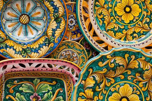 Obraz na płótnie ceramiche
