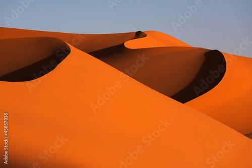 Dunes en desert Fototapeta