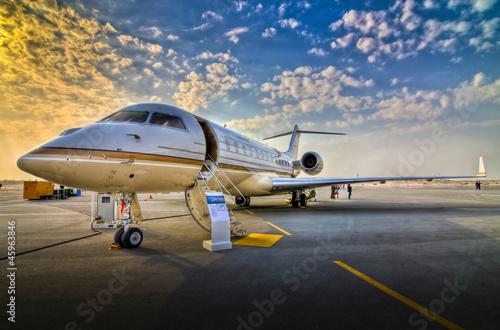 Obraz na plátně Aircraft - Airshow