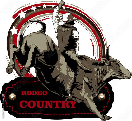 Carta da parati Rodeio