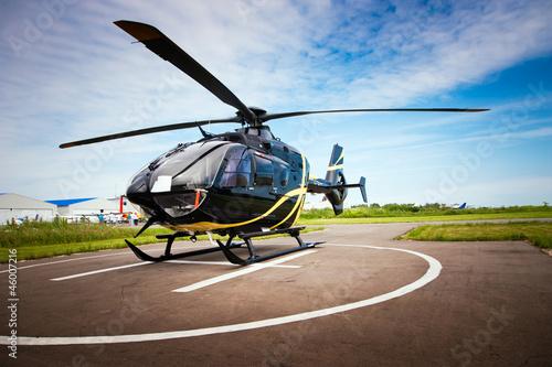 Fototapeta Light helicopter for private use