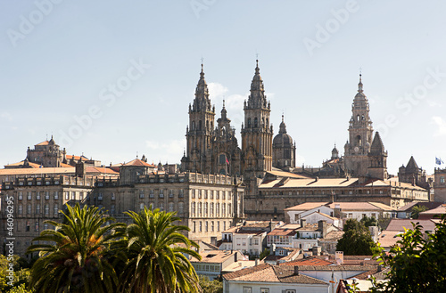 Tableau sur Toile Catedral in Santiago de Compostela
