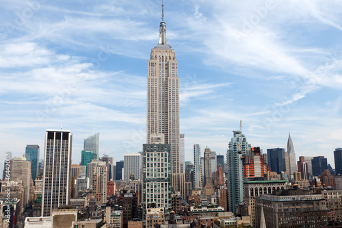 Empire State Building in New York Fototapet
