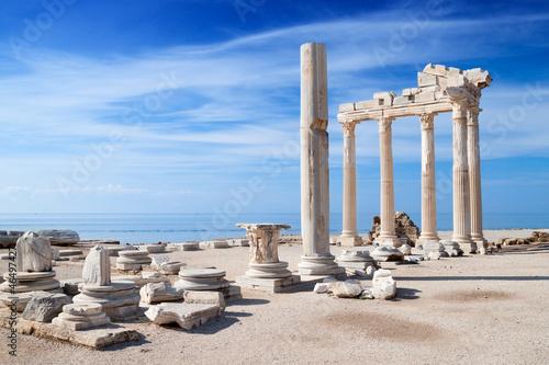 Świątynia starożytnych ruin Apollo Fototapeta