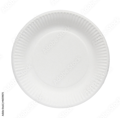 Paper plate.