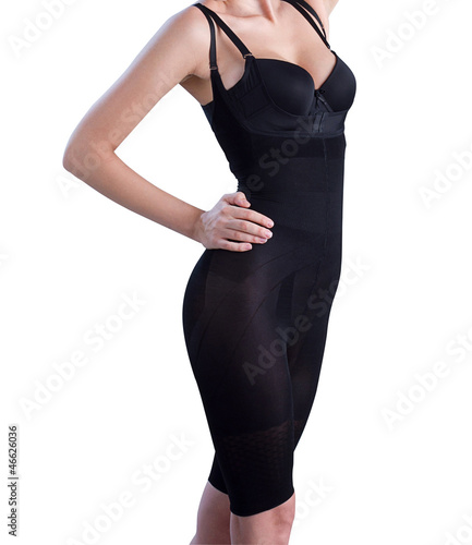 Fotografia Lingerie corset make you slim and help your breast up