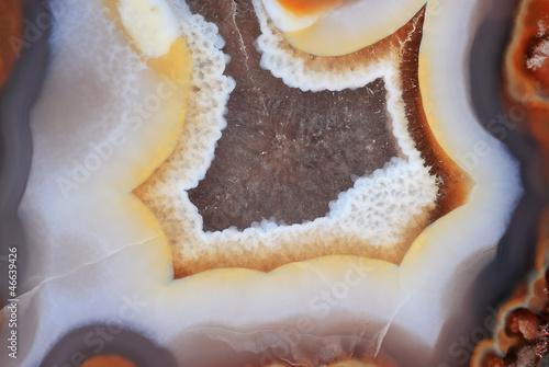 Fototapeta premium Naturalny brązowy agat