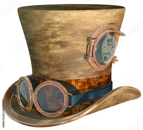 Obraz na płótnie Steampunk Hat and Goggles