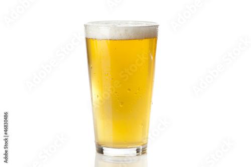 Stampa su Tela Refreshing Ice Cold Beer