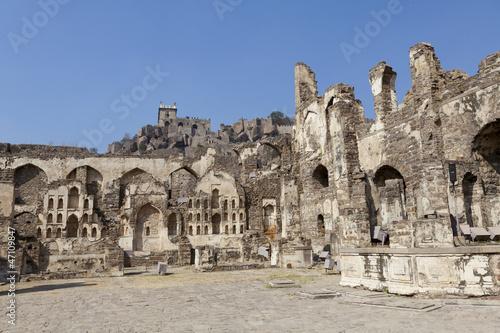 Платно Golconda Fort, Hyderabad, Andhra Pradesh,