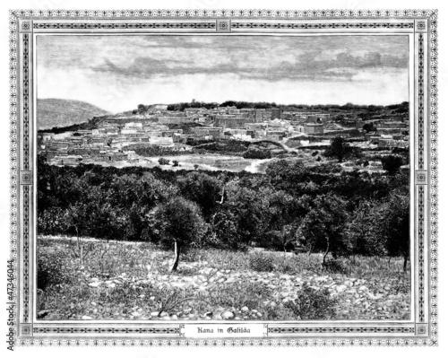 Obraz na płótnie Cana - Palestine