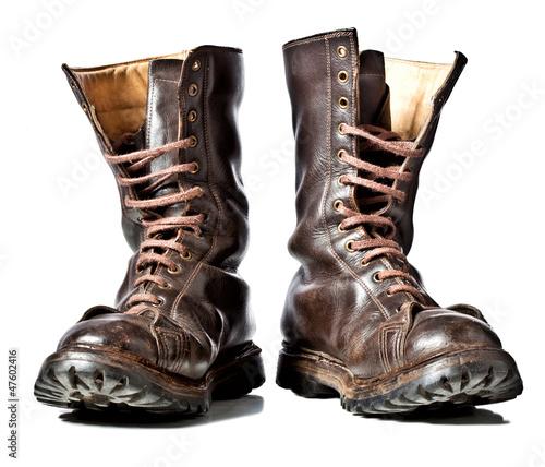 Fotografiet combat boots