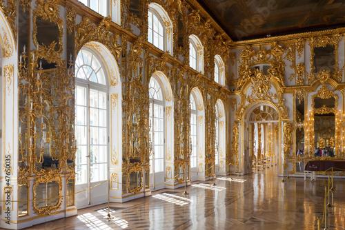Fotografie, Obraz Interior of Catherine Palace