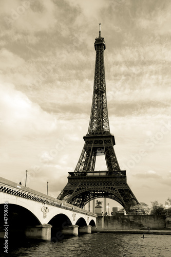 Eiffel tower, Paris, France #47901636