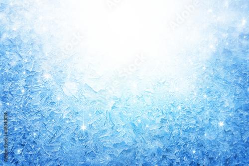 Fototapeta Frozen window